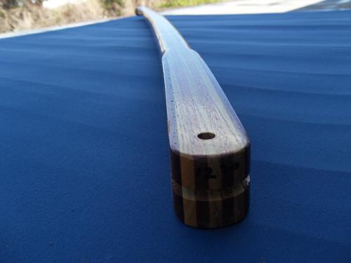 H & L Woodwork MCJ Tiller Handle 1270F