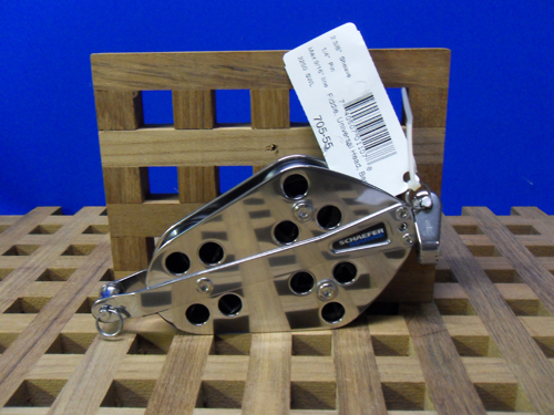 Schaefer Universal Head Fiddle Block with Becket 740507011078