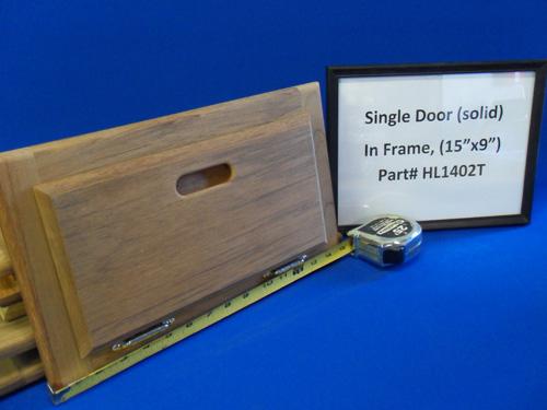H & L Marine, Teak Single Door HL1402T