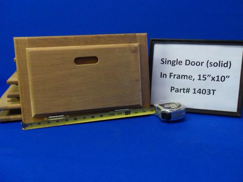H & L Marine, Teak Single Door HL1403T