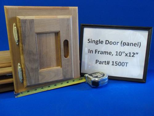 H & L Marine, Teak Single Panel Door HL1500T