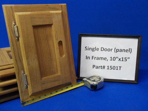 H & L Marine, Teak Single Panel Door HL1501T