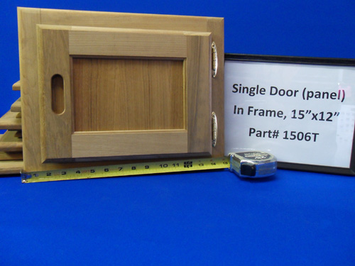 H & L Marine, Teak Single Panel Door HL1506T