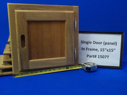 H & L Marine, Teak Single Panel Door HL1507T