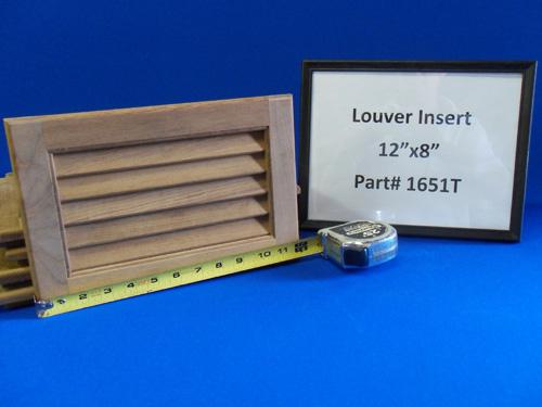 H & L Marine, Teak Louver Door Insert HL1651T