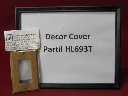 H & L Marine, Teak Decor Cover HL693T