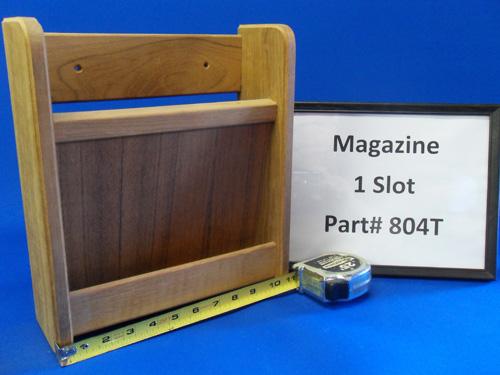 H & L Marine, Teak Magazine 1 Slot HL804T