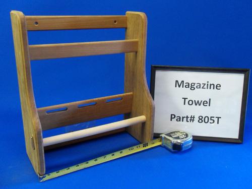 H & L Marine, Teak Magazine Towel HL805T