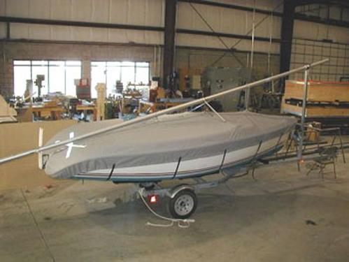 Hunter 146 Deck Cover